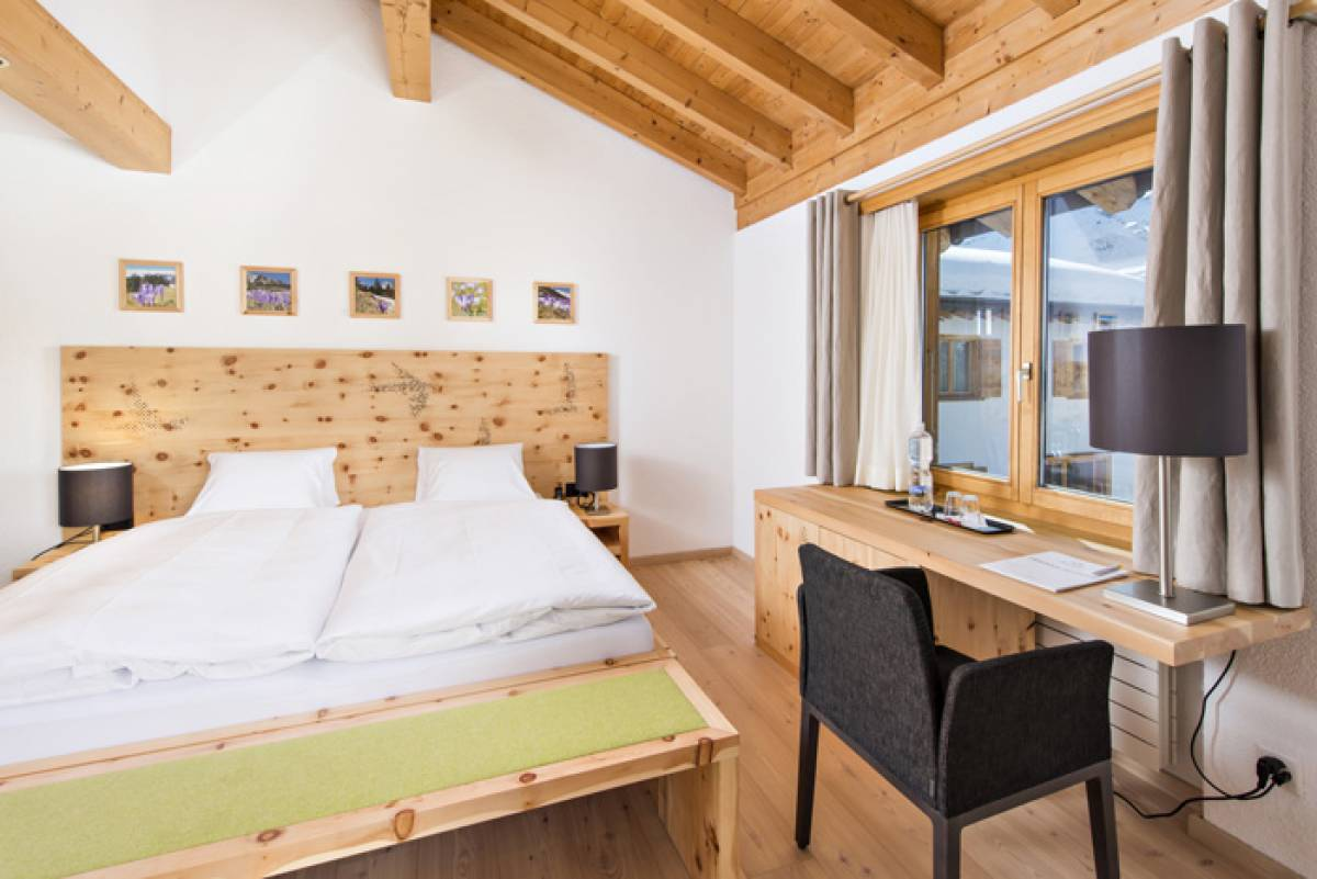 Double rooms, Berghotel***Randolins, St. Moritz, Engadine, Switzerland