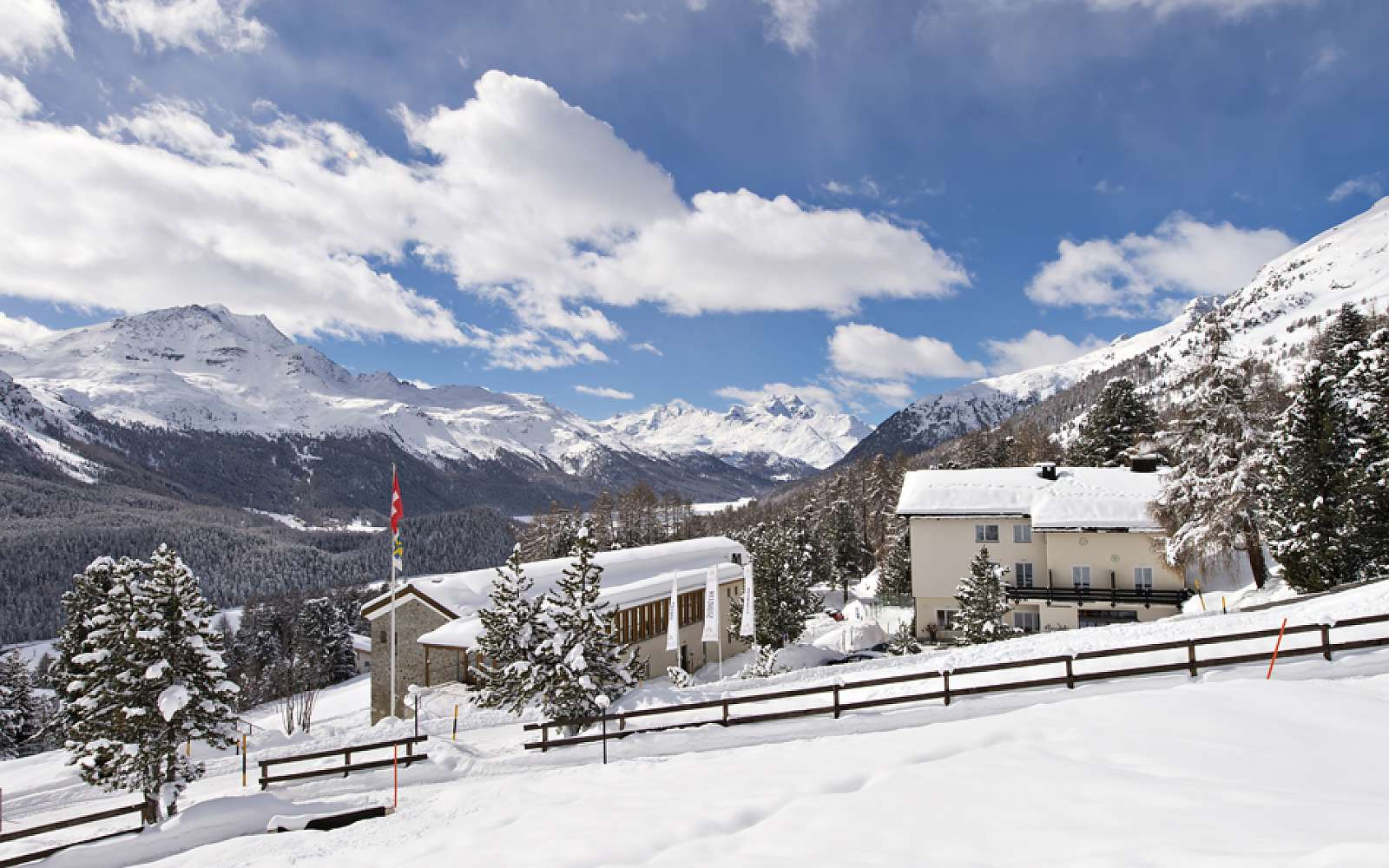 Family vacation at the Randolins Family Resort St. Moritz
