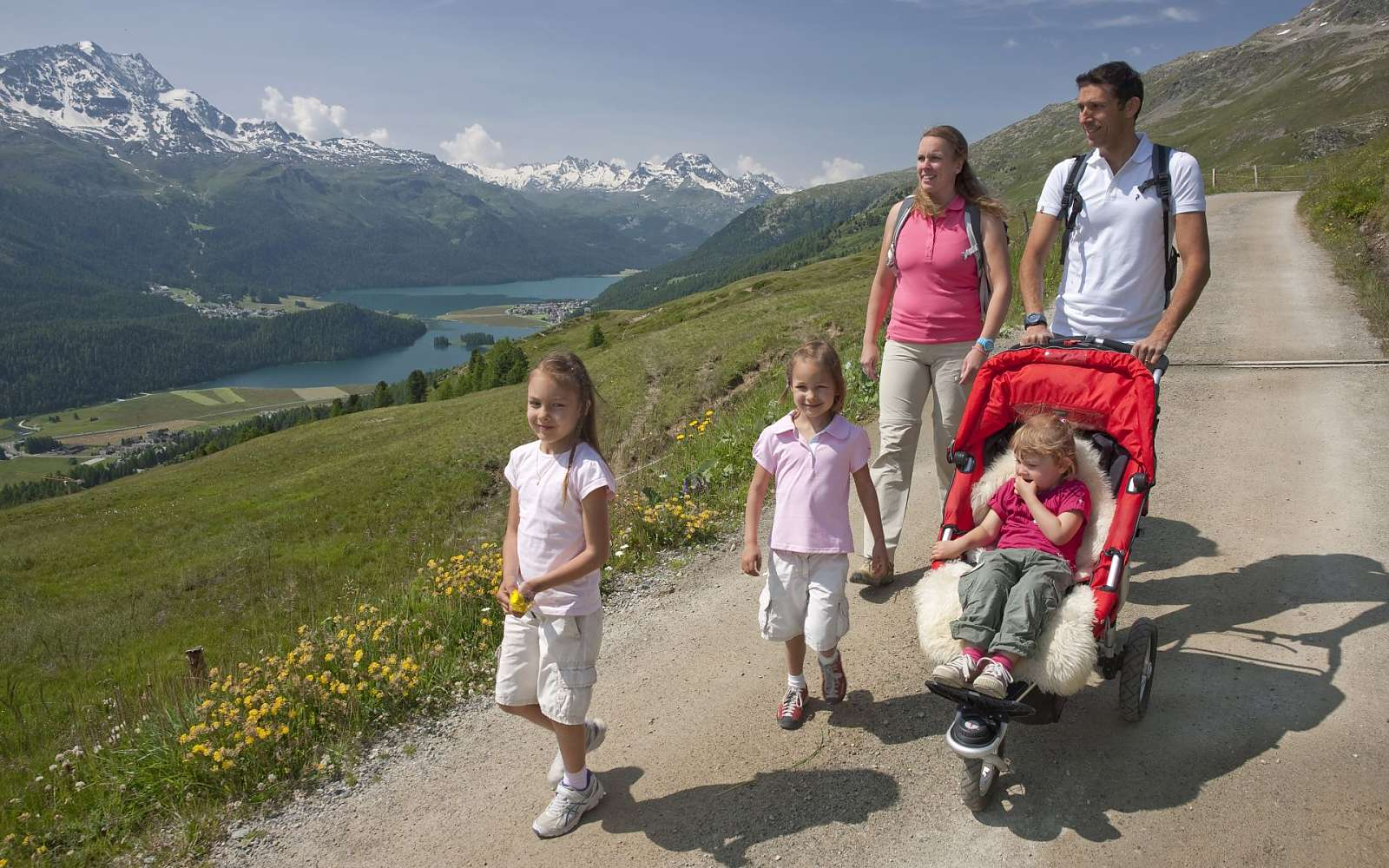 Active children's vacation in Switzerland