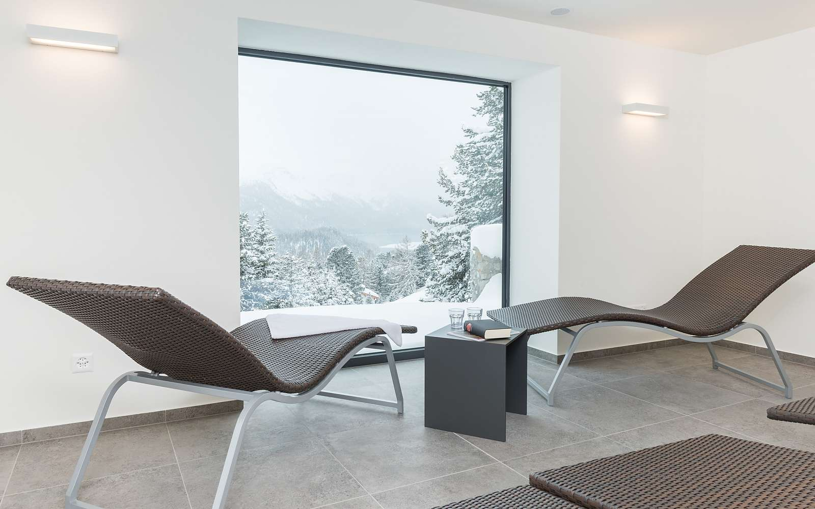 Wellness hotel in St. Moritz: Randolins Family Resort***