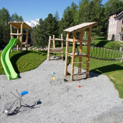 Playground at the Randolins Family Resort***