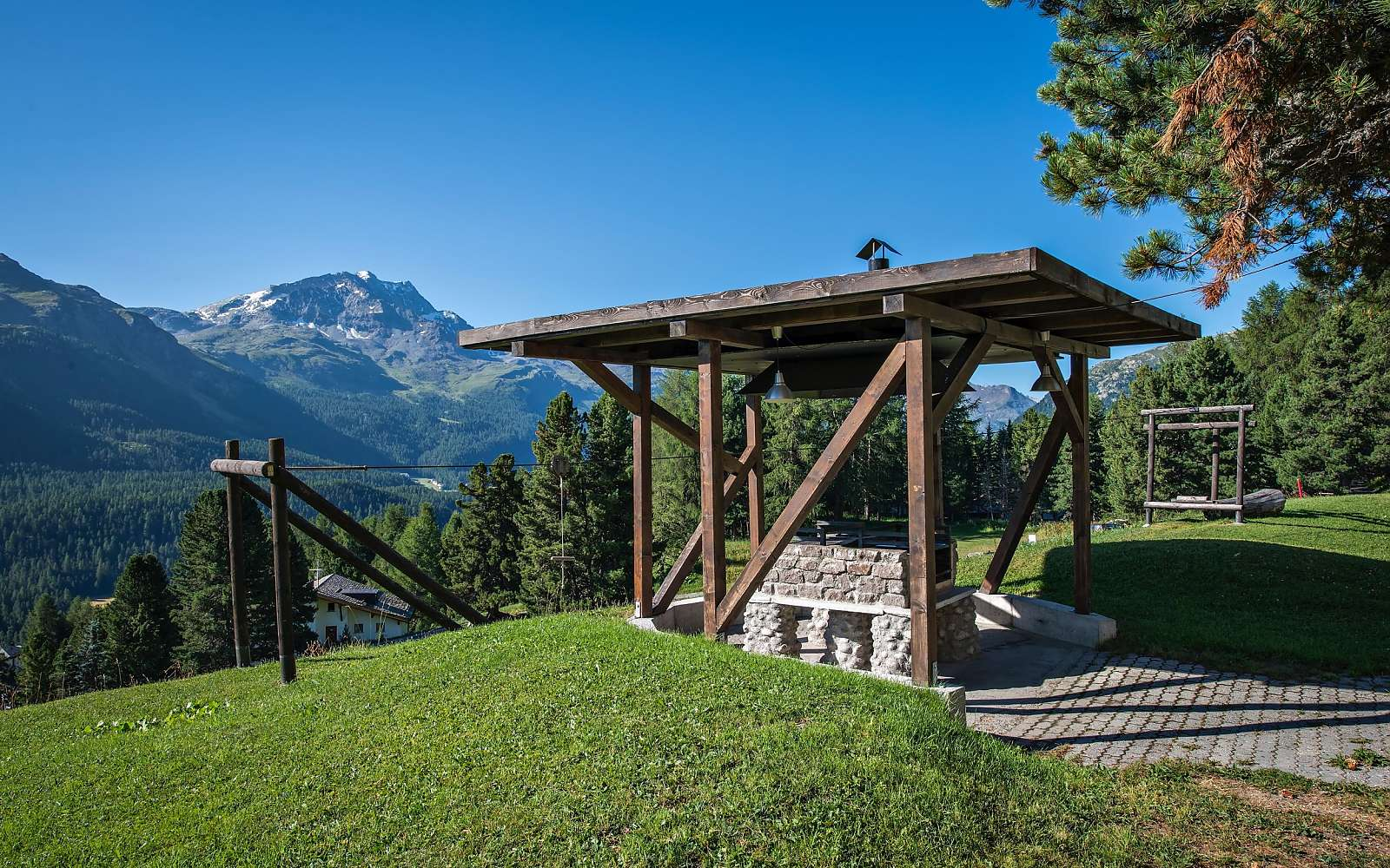 Fire place Engadin